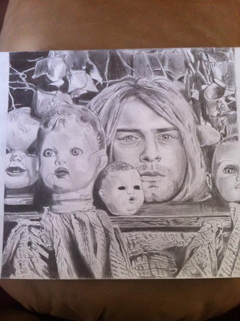 Kurt Cobain par Darxstarr